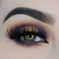 Stunning eye makeup! Love the brows and lashes!
