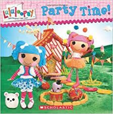 Image result for lalaloopsy party time book