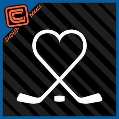 Love and hockey Goalie Stick, Hockey Goalie, Hockey Mom, Hockey Crafts, Football Crafts, Body Art Tattoos, I Tattoo, Hockey Shirts, Memorial Tattoos