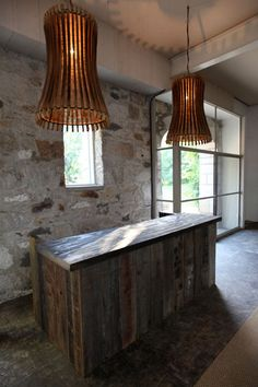 Wine Barrel Staves Made Lamps: Saving The Earth Made Easy