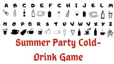 Summer😎⛱Theme Kitty Party🥤Cold-Drink Paper Written Games|Prachi Game Ideas #playsomethingnew #prachigameideas #kittypartygames #kittypartygameideas #summerthemeparty Summer Party Games, Kitty Party Games, Kitty Games, Birthday Party Games, Cat Party, Best Games, Fun Games, Games For Big Groups, Twister Game
