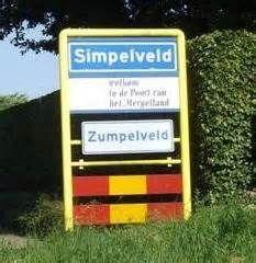 Simpelveld (Limburgs: Zumpelveld) is een plaats in het zuidoosten van ...