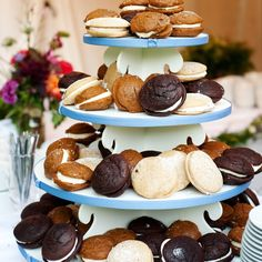 Whoopie Pie Wedding Desserts  #wedding #desert #treats #yummy