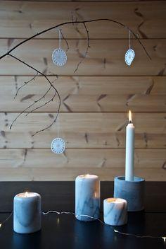 talo markki - scandinavian christmas DIY decorations