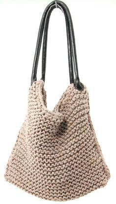 DIY: knitted bag