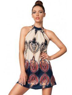 Dress 14580 - www. Sweet Dress, Floral Prints, Summer Dresses, Beige, Color, Fashion, Fashion Dresses, Dress Skirt, Lingerie