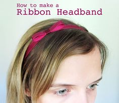 Ribbon headband for any day of recruitment! Gives a put together look for everyone!
