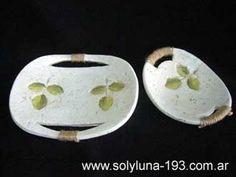 Cuencos y Bandejas Pasta Piedra, Polymer Clay, Plates, Tableware, Ideas, Paper Mache, Paper Art, Home, Paper Mache Bowls