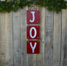 Excited to share the latest addition to my #etsy shop: JOY wooden sign, Holiday wooden sign, Unique joy christmas sign, Rustic joy sign, Ructic christmas decoration, Holiday decor, Joy sign decor http://etsy.me/2AuO7cP