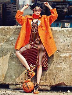 Jin Jungsun by J. Dukhwa for Style H Korea Sept 2014