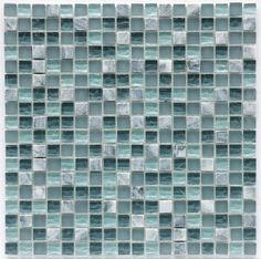 Gresite mezcla de mosaico de cristal piedra y mármol. Glass mosaic mix. Puedes verlo en www.comprargresite.com