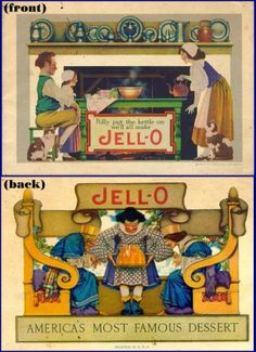 Maxfield Parrish Jello package