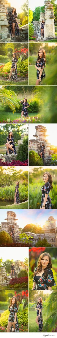 d-Squared Designs St. Louis, MO Senior Photography, Spring senior girl. Gorgeous senior. Summer senior outfit. Senior Pictures. Summer flowers. Senior posing ideas. Senior poses.