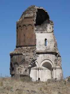 ANI RUINES: CHURCH OF THE REDEEMER •  AD 1035 • Armenian • Kars Province, Turkey