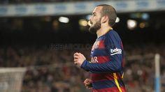 El debut de Aleix Vidal con el Barça, en imágenes | FC Barcelona