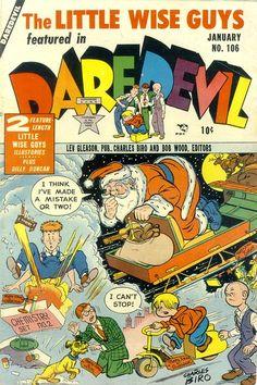 Daredevil106-01 | Jon Knutson | Flickr Christmas Comics, Biro, Guys, Sons, Boys