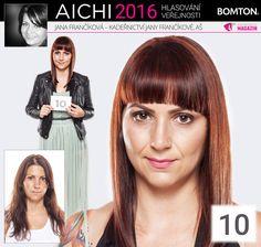 Finále AICHI 2016: Jana Frančíková - Kadeřnictví Jany Frančíkové, Aš