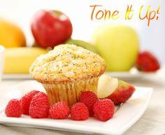 TIU - Orange Raspberry Fiber Muffins