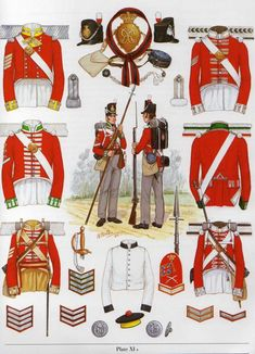 Napoleonic Military Paintings/Sketches/Uniform Plates - page 7 - Historical Discussion - Flying Squirrel Entertainment British Army Uniform, British Uniforms, British Soldier, Military Art, Military History, Best Uniforms, Military Uniforms, British Armed Forces, Royal Marines