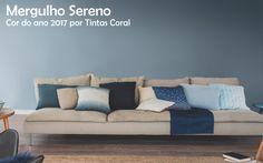 Mergulho Sereno: a cor do ano de 2017, por Tintas Coral