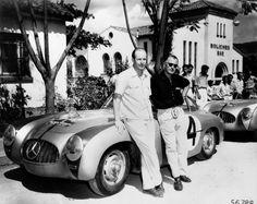 Carrera Panamericana winners in 1952 : Kling and Klenk