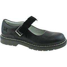 e5576d4f7d046 Lelli Kelly LK8286 (CB01) Frankie Black Leather School Shoes F Fitting-35 (