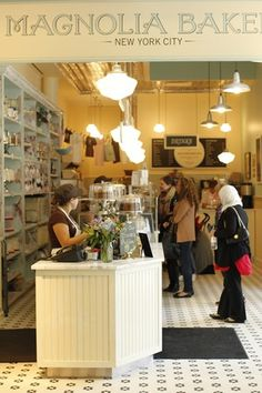 If I ever go to NYC, I'm going to check out the Magnolia Bakery! And I Did !!!!