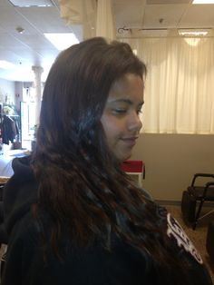 Relaxing african american hair while wearing fusion hair black hair extensions pmusecretfo Image collections