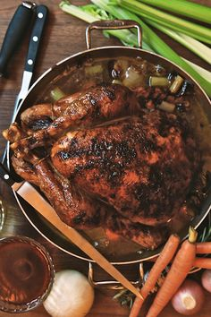 We consult chef Harold Moore for his foolproof turkey recipe. Best Thanksgiving Turkey Recipe, Best Turkey, Turkey Handprint, Turkey Recipes, Pork, Yummy Food, Foods, Meals, Holidays