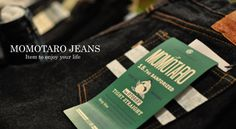 """Beautiful Japan Denim: MOMOTARO Jeans""  http://www.denimfuture.com/watch-video/beautiful-japan-denim-momotaro-jeans"