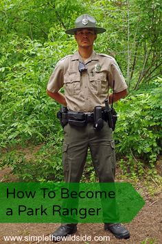 """""""How to become a Park Ranger""""Just in case there is a short hiatus prior to the PhD Voices Movie, Bobby, The Precinct, Environmental Studies, Career Goals, National Forest, Dream Job, Tour Guide, State Parks"""