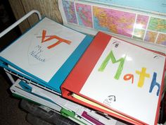 math notebooks