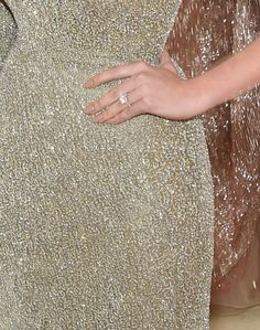 Kate Upton in 'Natural Woman' on the Met Gala red carpet. Manicure by Deborah Lippmann.