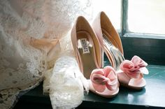 the cutest bridal shoes...