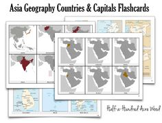 Asia Country Capitals Flashcards