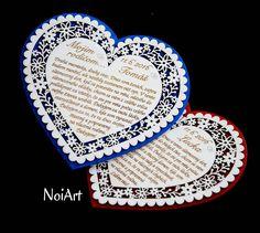 Darčeky pre svadobčanov - Srdce Poďakovanie Rodičom 13 - 6651039_