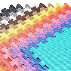 We Sell Mats - 2'x2' Foam Interlocking Anti-fatigue Exercise & Fitness Gym Soft Yoga Trade Show Play Room Basement Square Floor Tiles Borders Included - 13 Colors to Choose From, http://www.amazon.com/dp/B001EJPGPA/ref=cm_sw_r_pi_n_awdm_pxvDxbJA55R1T