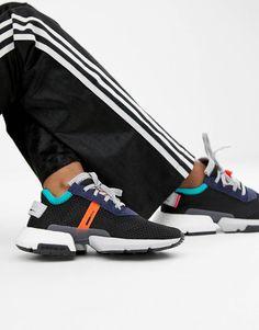 sports shoes 3c390 cca61 adidas Originals Pod-S3.1 Sneakers In Black Multi