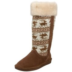 BEARPAW Women's Blitzen Knee-High Boot,Hickory/Champagne,7 M US Bearpaw http://www.amazon.com/gp/product/B003CYM61M/ref=as_li_tl?ie=UTF8&camp=1789&creative=390957&creativeASIN=B003CYM61M&linkCode=as2&tag=monika04-20&linkId=6V6LQHSA57QVPRDB