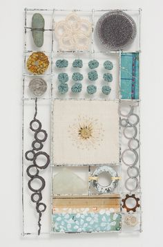 Liz Cooksey - Textitle Artist - Gallery II Brilliant compartments. Love this.