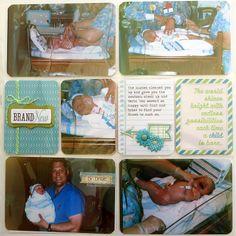 Logan's Baby Book - page 6 - Scrapbook.com