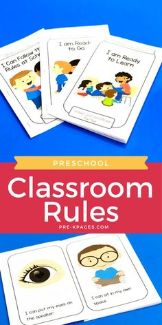 Which classroom rules and expectations should you introduce in preschool or pre-k? How should you teach them? Make teaching rules and expectations so much easier with these tried and true tips and tricks! #preschool #prek #prekpages
