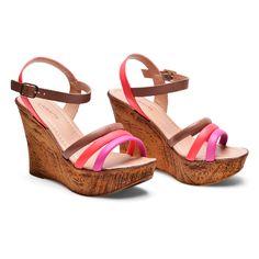 Alberto Wedge Sandals WW 516-667008 (Pink)