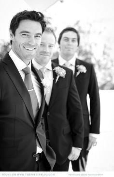 Groom , best man , father of groom