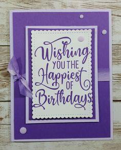 Happiest of Birthdays, Stampin' Up! Belated Birthday, Birthday Wishes, Birthday Cards, Fun Crafts, Paper Crafts, Stampin Up Catalog, Stamping Up Cards, Card Making Inspiration, Homemade Cards