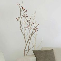 Stick On Wall Art trees, it is and tree wall on pinterest