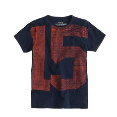 J.Crew - Boys' #15 tee (E's favorite number)