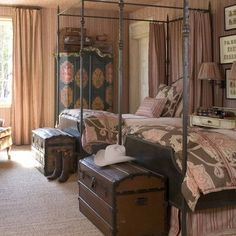 Brierly Court Master Retreat - eclectic - bedroom - nashville - Eric Ross Interiors, LLC