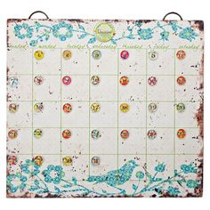 I pinned this Bluest Bird Calendar Set from the Lone Elm Studios event at Joss and Main!