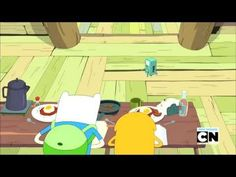 Adventure Time: BMO invites over some bikini babes  Feeling down BMO dancing will cheer you right up.